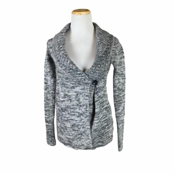 Aritzia Talula Wool Cashmere Wrap Knit Sweater